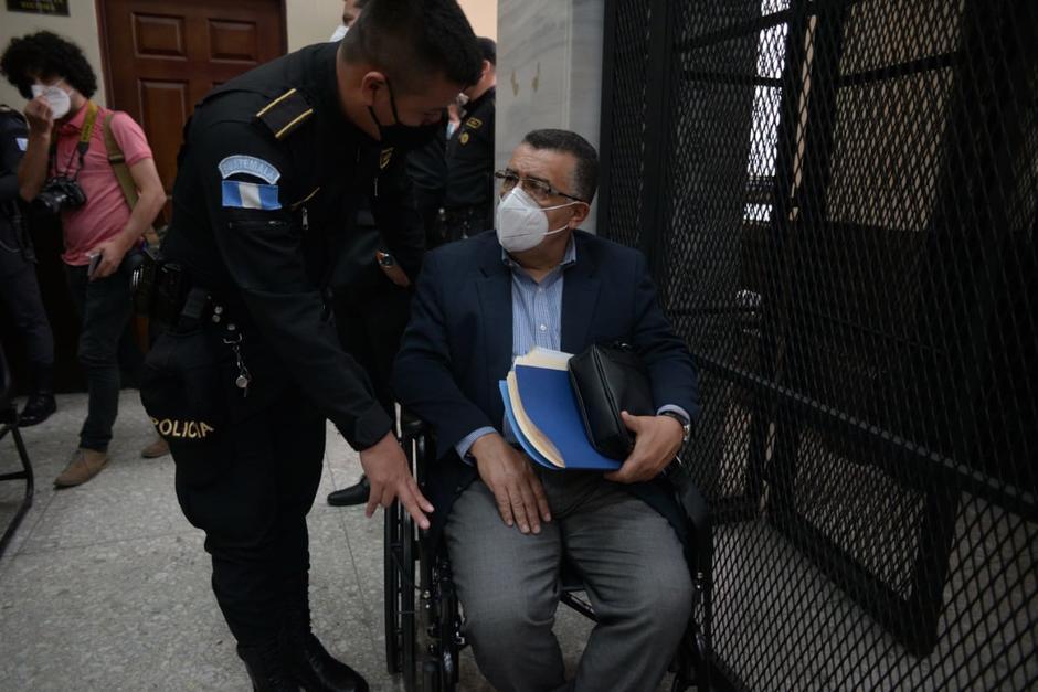 Gálvez también está señalado en un caso por supuestas influencias en la elección de magistrados. (Foto: Wilder López/Soy502)