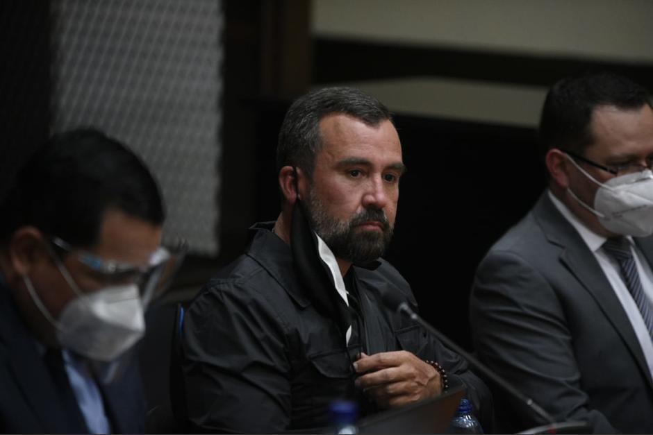 Alejandro Sinibaldi se entregó a las autoridades el 24 de agosto de 2020 y permanece en prisión preventiva. (Foto: Archivo/Soy502)