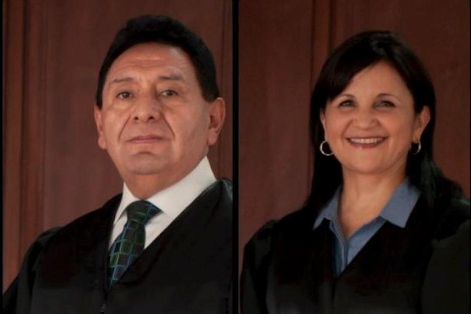 Francisco de Mata Vela y Gloria Porras enfrentan el proceso de antejuicio. (Fotos: archivo/Soy502)