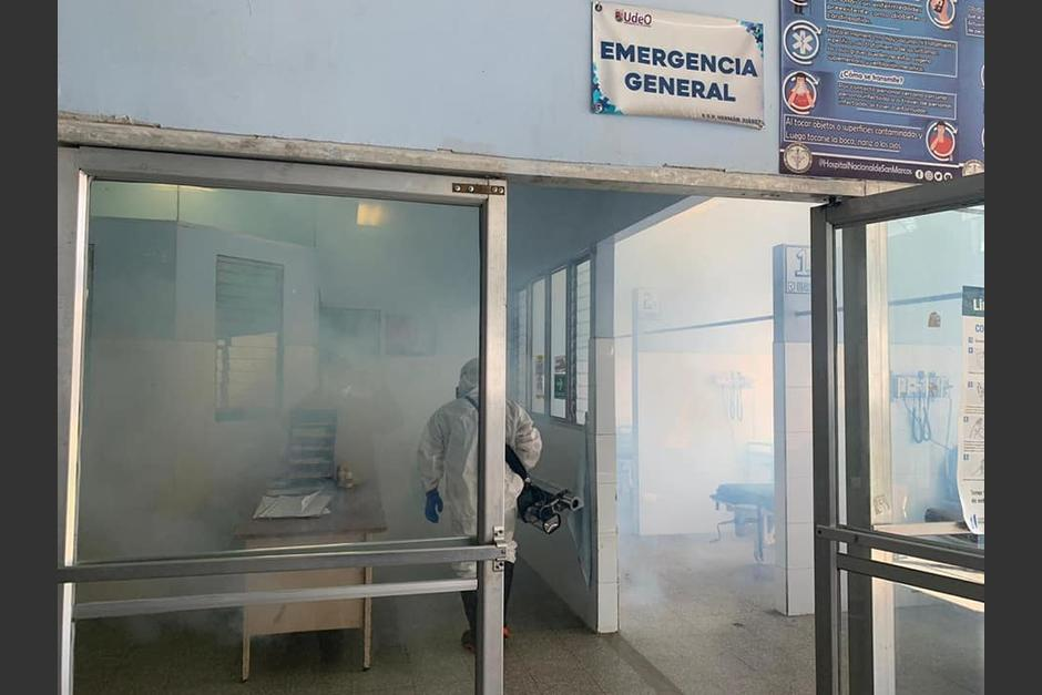 El Hospital Nacional de San Marcos colapsó con casos de Covid-19 debido a un incremento de la enfermedad en esa región. (Foto: Facebook Hospital)