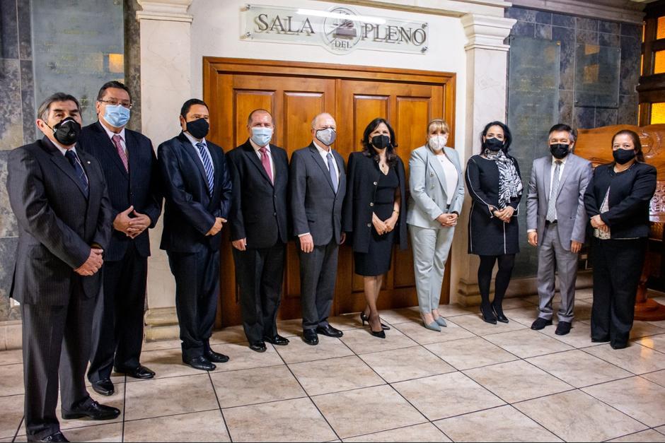 Los nuevos magistrados de la CC deben asumir el 14 de abril. (Foto: Corte de Constitucionalidad)