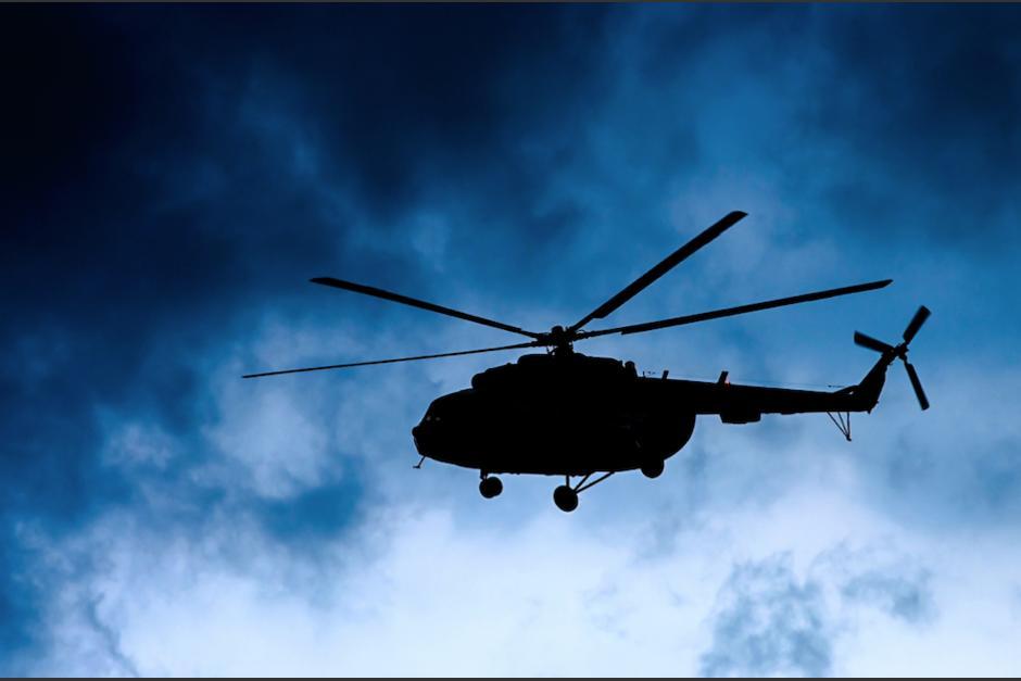 Durante varias noches los guatemaltecos han reportado el sobrevuelo de helicópteros durante la noche. (Foto: Ilustrativa/Shutterstock/Soy502)
