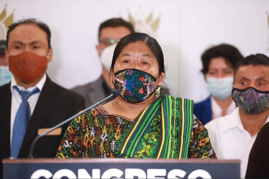 La propuesta surgió de reuniones de Codeca y le fue entregada a la diputada el pasado 18 de febrero. (Foto: Congreso)