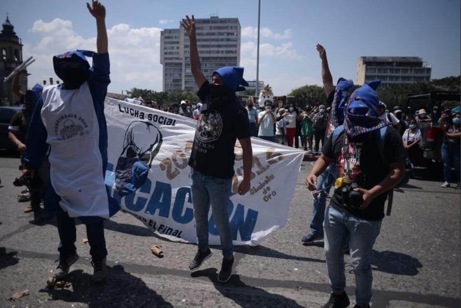 Hubo poca presencia de huelgueros durante este Viernes de Dolores. (Foto: Wilder López/Soy502)
