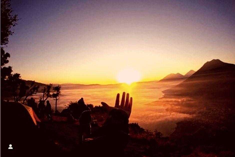 Atardeceres de verano en Guatemala. (Fotos: Instagram)