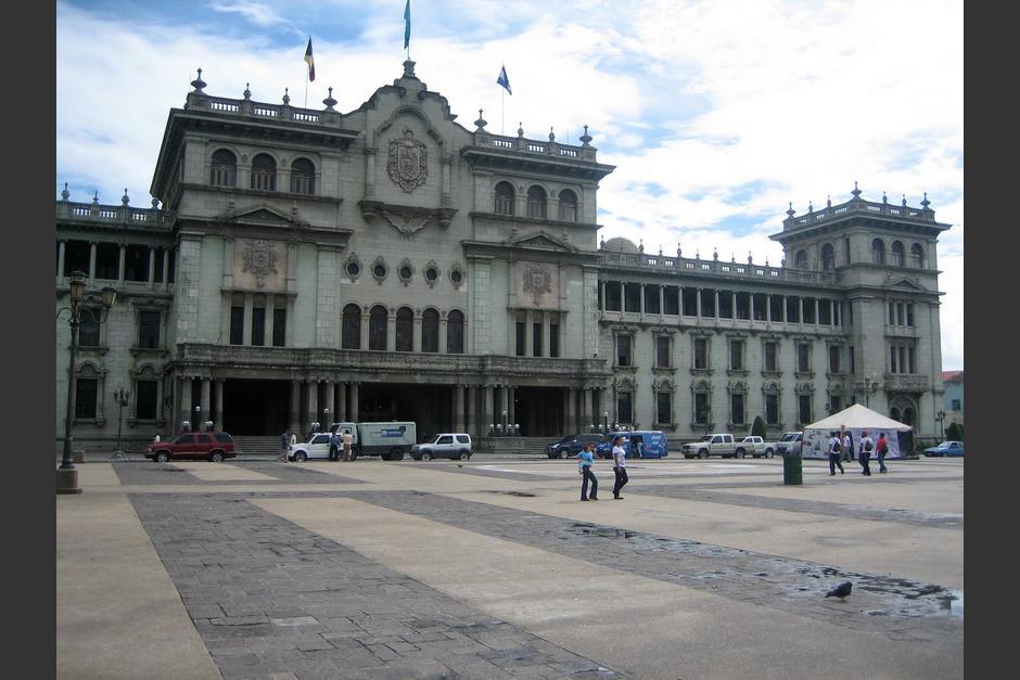 El video fue grabado en una de las terrazas del Palacio Nacional de la Cultura. (Foto: Archivo/Soy502)