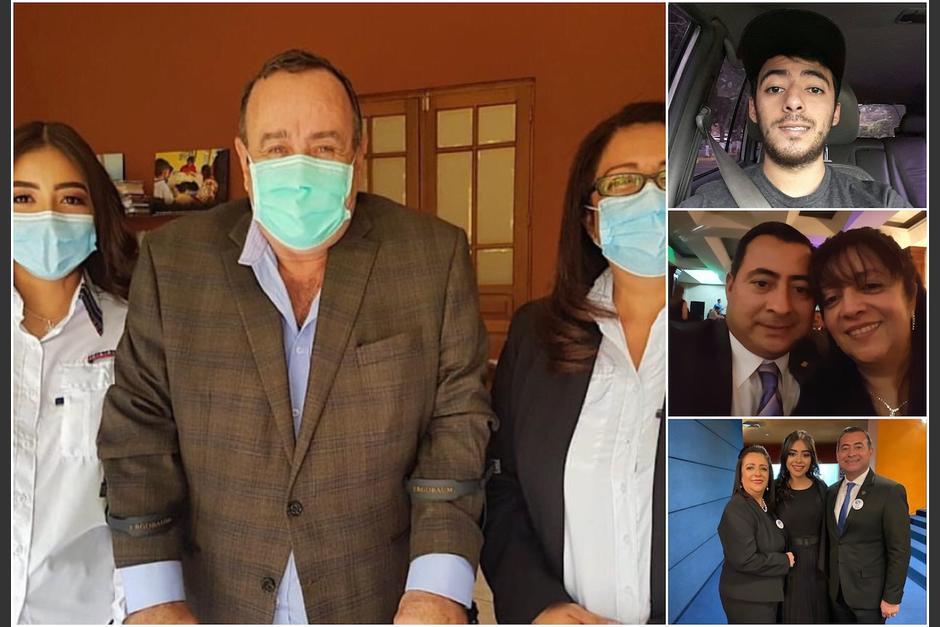 Desde su esposo, sus hijos, hasta su cuñado, la familia de la ministra de Salud, Claudia Ruiz, ha aprovechado su cargo en el Ejecutivo y su cercanía con el presidente Alejandro Giammattei. (Foto: Soy502)