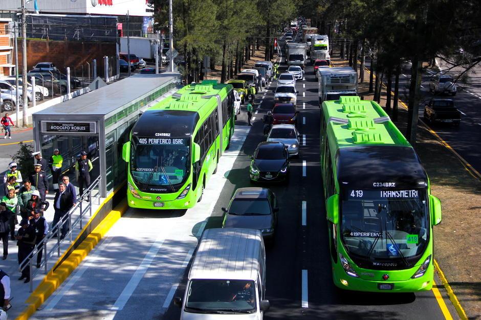 Transmetro dejará de usar efectivo a partir del 15 de mayo