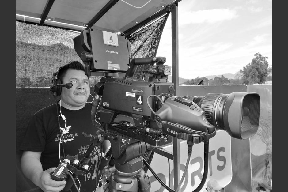 El camarógrafo Humberto Rac falleció en un accidente de tránsito. (Foto: Facebook/Humberto Rac)