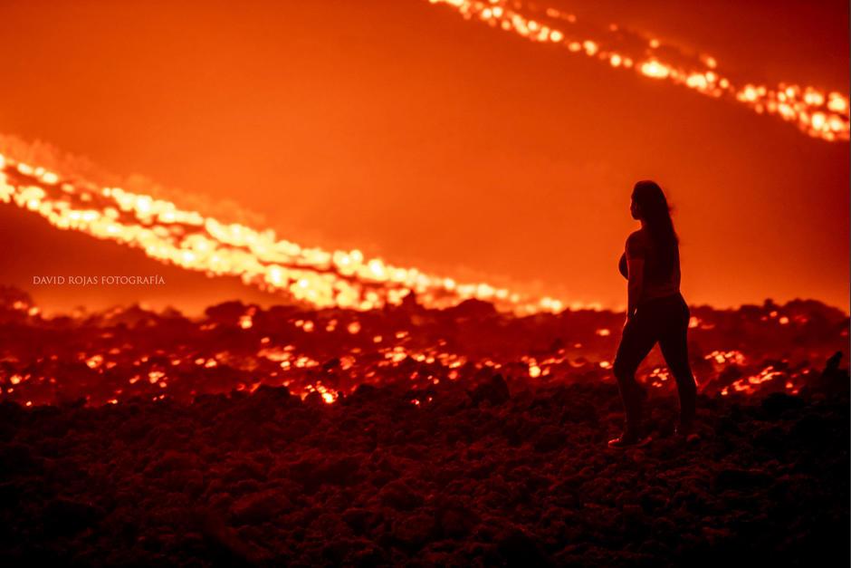La actividad del volcán Pacaya continúa incrementando. (Foto: David Rojas Fotografía)