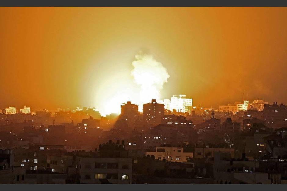 Un misil cayó en bus en Israel. (Foto: El Universo)
