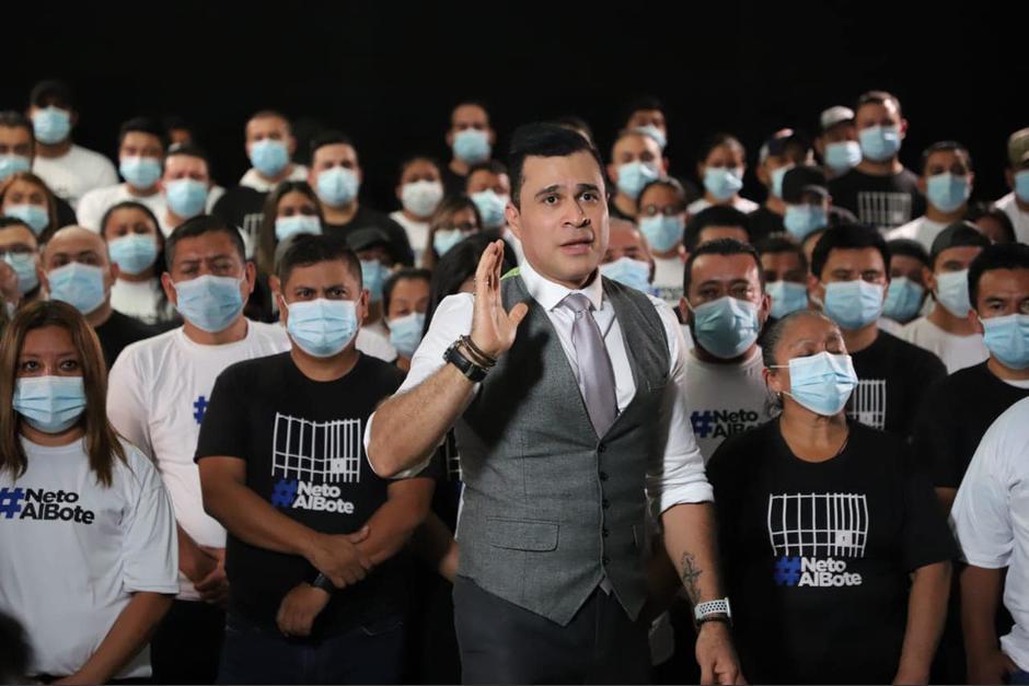 """Neto Bran se considera un político independiente y acusó al """"Pacto de Corruptos"""" con una canción. (Foto: archivo/Soy502)"""