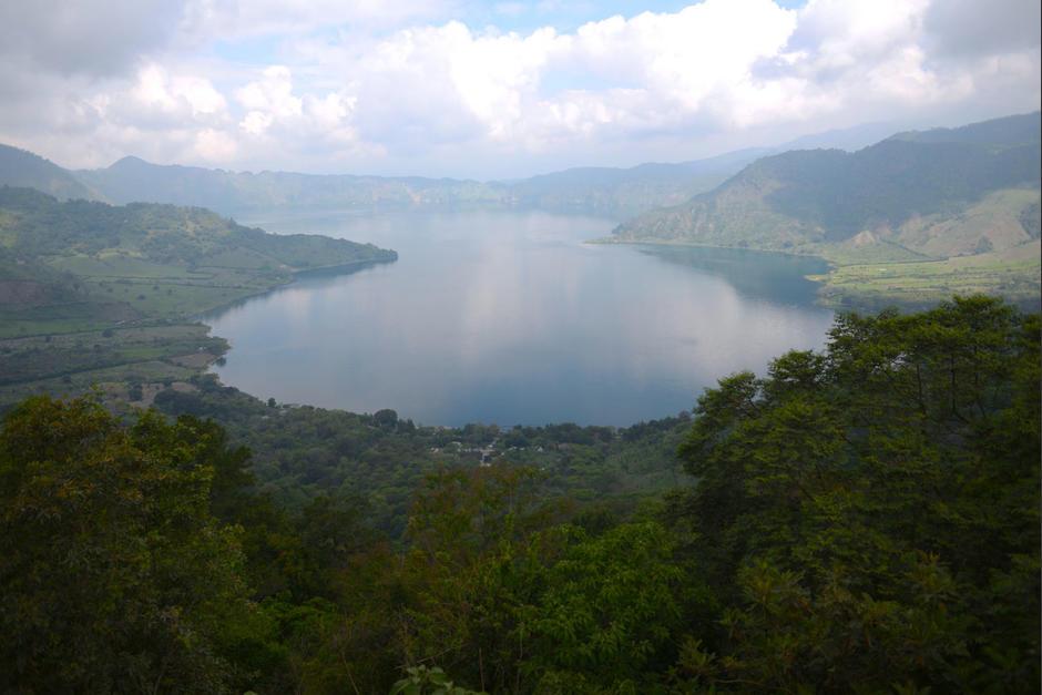 La Laguna de Ayarza se ubica entre los municipios de Casillas y San Rafael Las Flores, Santa Rosa. (Foto: Wilder López/Soy502)