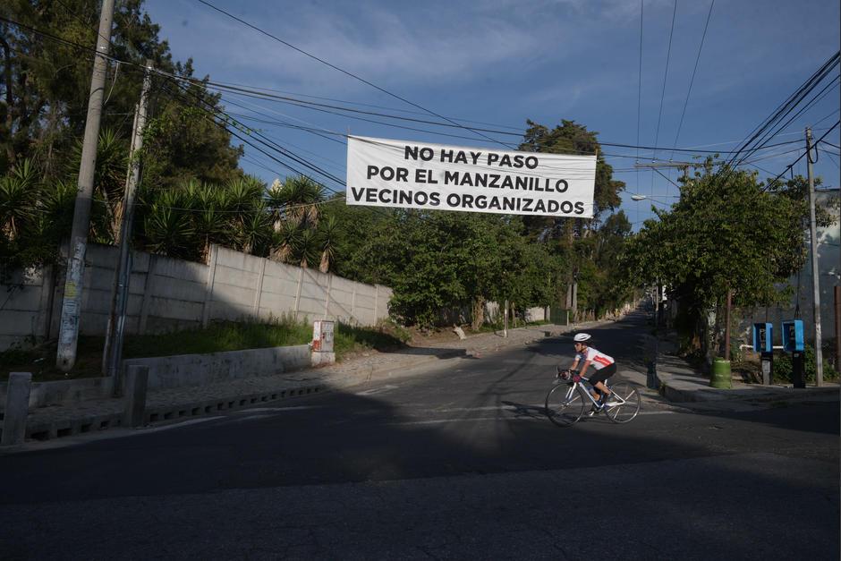 Inicio al paso por la aldea Alta Vista y el Manzanillo. (Foto: Wilder López/ Soy502)
