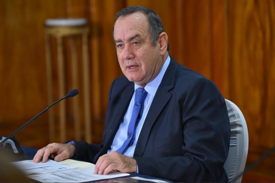 Giammattei anunció la condonación durante una actividad en el Palacio Nacional de la Cultura. (Foto: Gobierno de Guatemala)