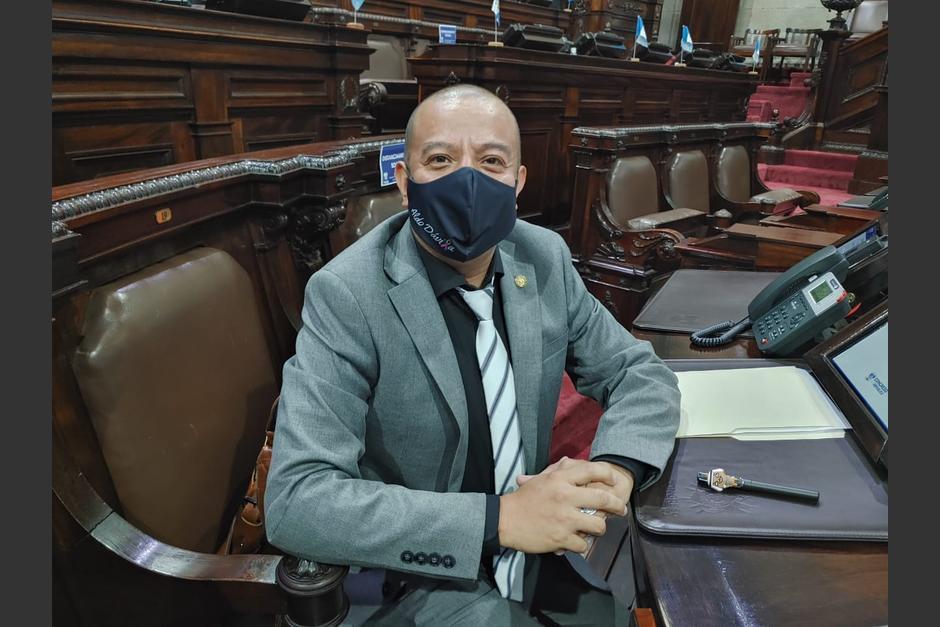 El diputado Aldo Dávila enfrenta un proceso de antejuicio. (Foto: archivo/Soy502)