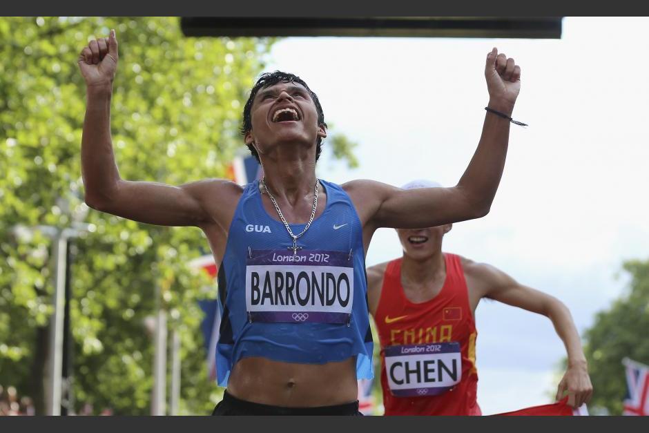 Erick Barrondo clasificó a sus terceros Juegos Olímpicos. (Foto: Archivo/Soy502)