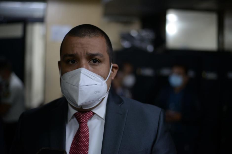 Juan Francisco Solórzano Foppa traslado por Presidios a tribunales el 28 de mayo de 2021. (Foto: Wilder López/Soy502)