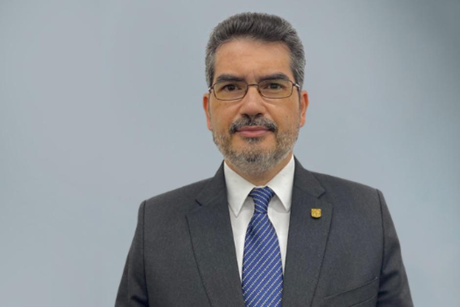 Marlon Barahona es magistrado suplente del TSE y también rector de la Facultad de Ciencias Jurídicas de la Universidad Da Vinci. (Foto: Universidad Da Vinci)