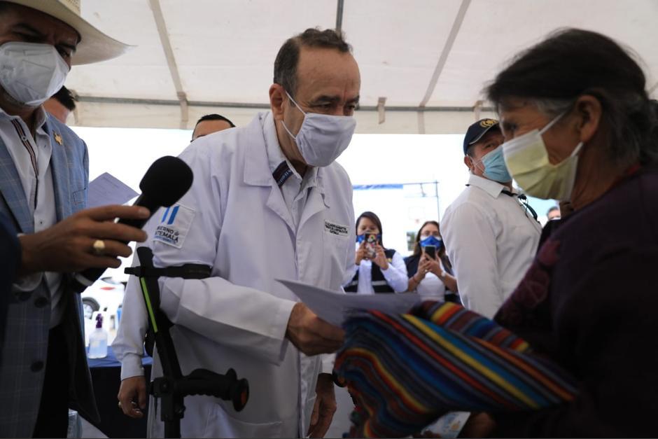 El presidente hizo un llamado a los jóvenes para vacunarse. (Foto: SCSPR)