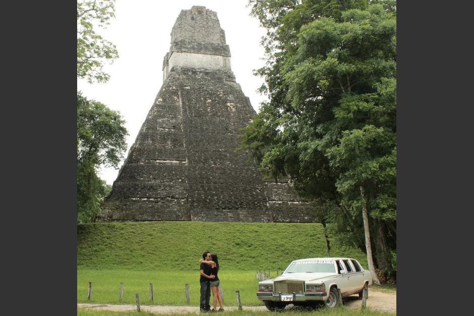 """Así fue como la pareja """"América Sin Límites"""" visitó el Parque Nacional Tikal en 2013. (Foto: América Sin Límites)"""