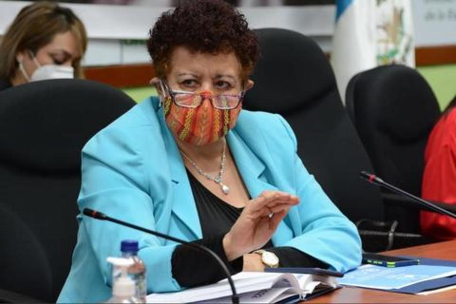 El diputado Orlando Blanco presenta una denuncia contra la exministra de Salud, Amelia Flores por la entrega de dosis de vacunas Sputnik V. (Foto: Archivo/Congreso)