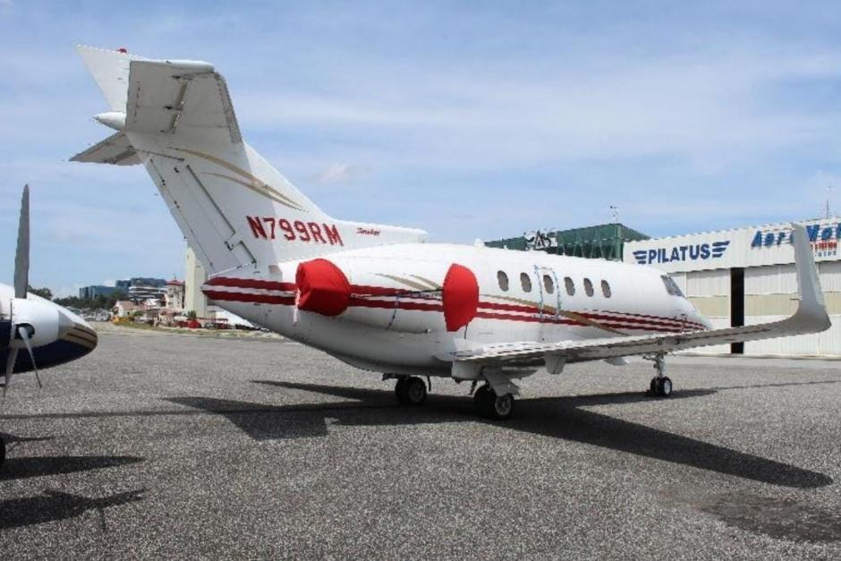 El avión matricula N 799RM se encuentra en administración de la Senabed. (Foto: MP)