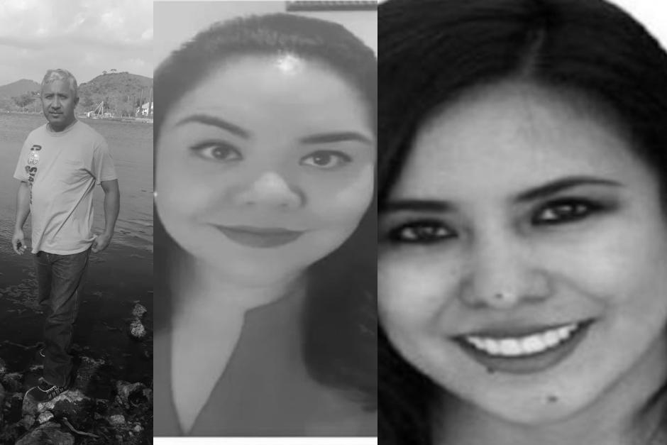 Eliseo, María José y Paola Rímola aparecieron sin vida el 9 de octubre. (Fotos: archivo)