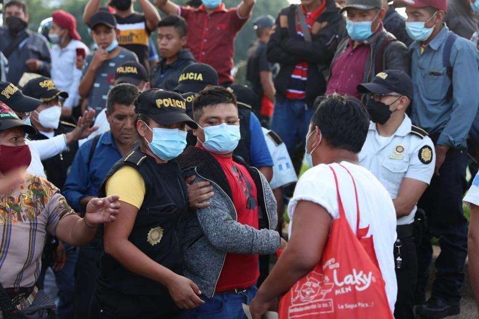 Detienen a dos presuntos responsables de haber dañado los monumentos durante una protesta. (Foto: cortesía)