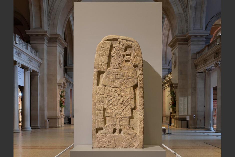 El Museo Metropolitano de Nueva York le da la bienvenida a los visitantes con las piezas maya guatemaltecas. (Foto: Met Museum)