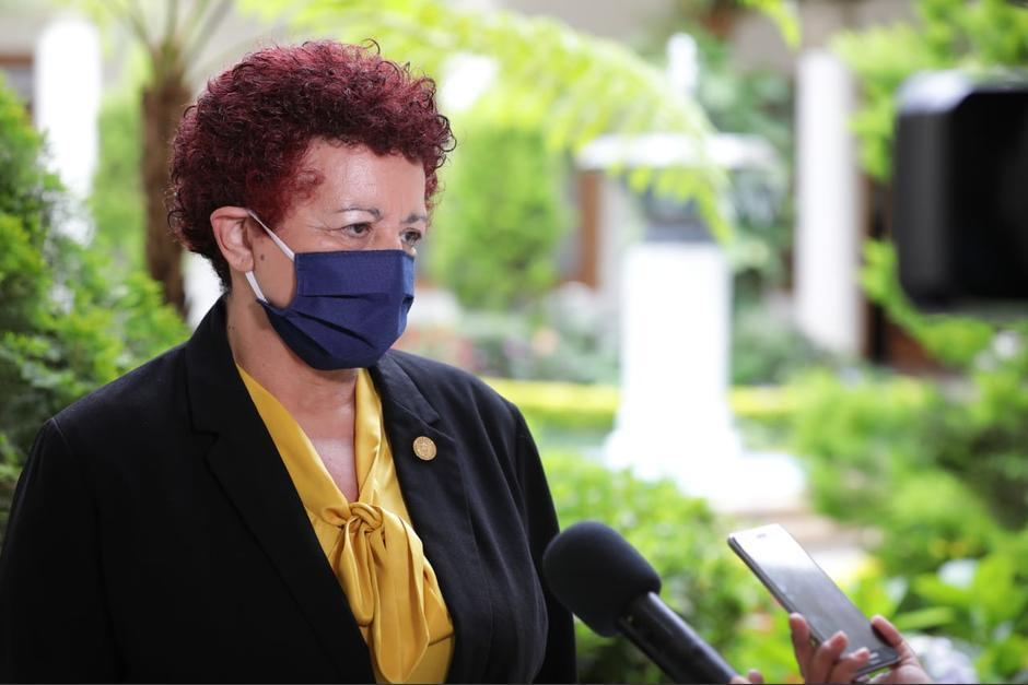 El pasado 6 de septiembre el mandatario reveló que la madre de la funcionaria estaba grave. (Foto: Archivo/Soy502)