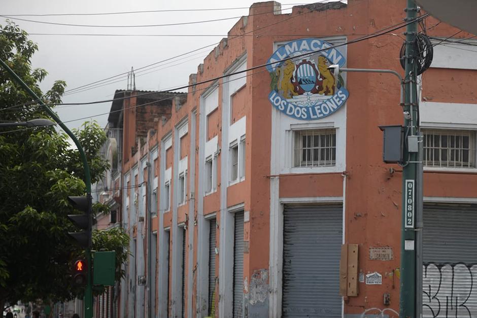 """""""Los Dos Leones"""" está ubicado en el Centro Histórico (Foto: Wilder López / Soy502)"""