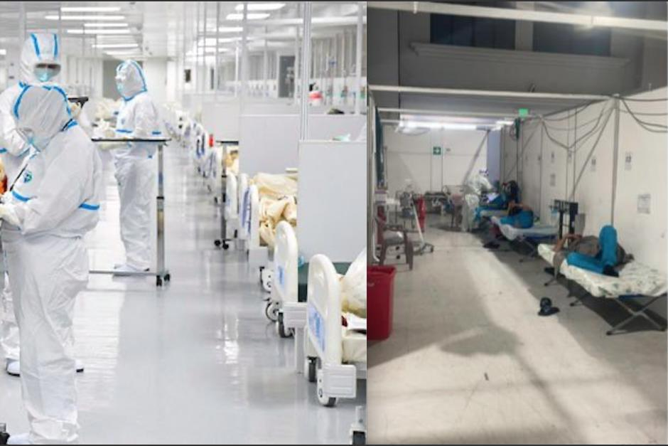 Los dos hospitales están diseñados exclusivamente para atender pacientes del Covid-19. (Foto: archivo/soy502)
