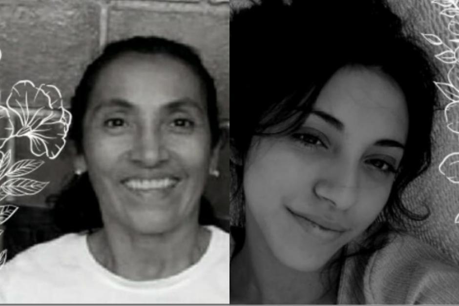 Angie Caseros y su mamá Blanca Ramírez fueron localizadas fallecidas, después de una denuncia de desaparición. (Foto: Soy502)