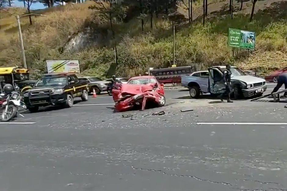 Los accidentes de tránsito han aumentado en Guatemala durante el año 2021. (Foto ilustrativa / archivo)