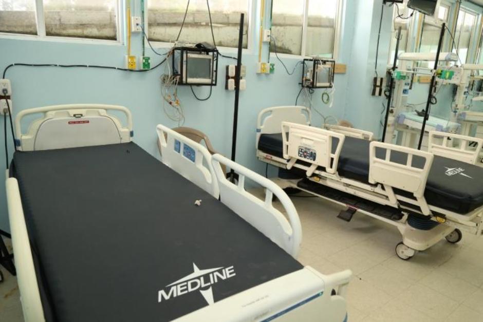 El Hospital de Occidente habilitó el área de cuidados intensivos para niños con Covid-19. (Foto: prensa.gob.gt)