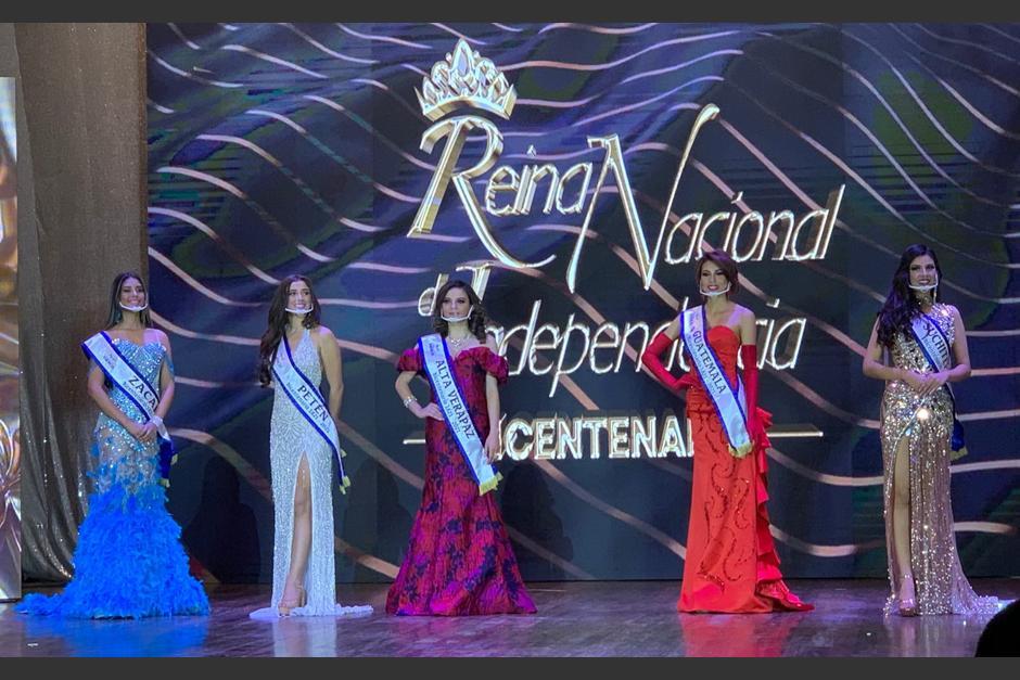 Quetzaltenango realiza la elección de Reina Nacional de Independencia Bicentenario. (Foto: Totovisión)