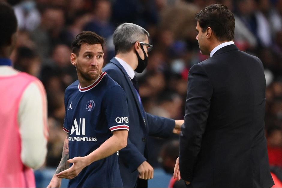 Lionel Messi salió de cambio al minuto 76. (Foto: AFP)