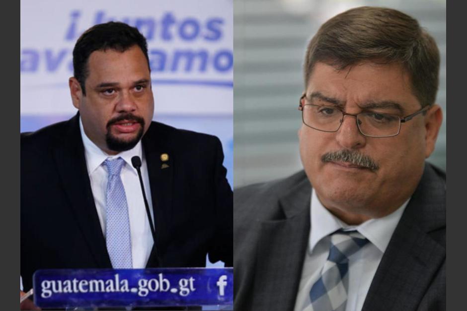 El exministro de Comunicaciones, José Luis Benito, realizó un fuerte reclamo a Quique Godoy por dejar el gobierno de Jimmy Morales. (Foto: Soy502)