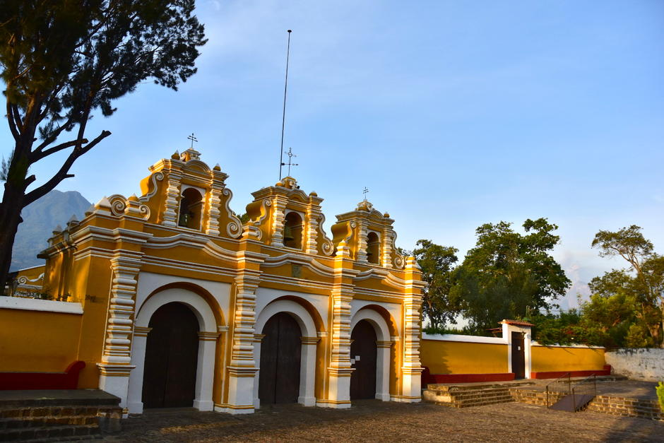 El hecho ocurrió en la ermita El Calvario, al sur de Antigua Guatemala. (Foto: Fredy Hernández/Soy502)