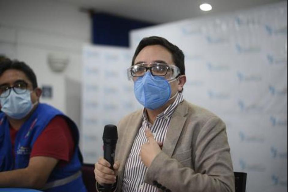 Juan Francisco Sandoval señala la importancia de exigir rendición de cuentas para el combate a la corrución. (Foto: archivo/Soy502)