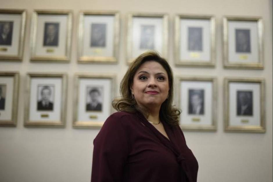 La excanciller Sandra Jovel fue una de las funcionarias más activas durante el gobierno de Jimmy Morales para expulsar a la Cicig y a Iván Velásquez. (Foto: Archivo/Soy502)