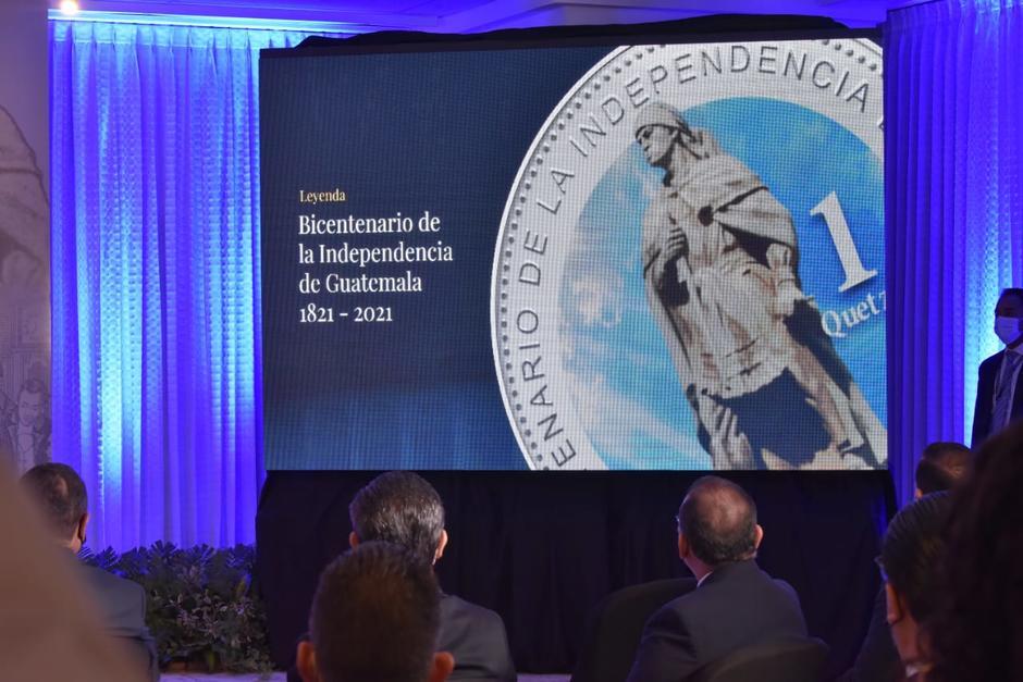 Las monedas del Bicentenario fueron emitidas para colección por los 200 años de Independencia de Guatemala del reino de España. (Foto: Banguat)