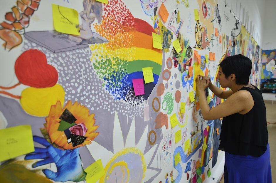 La literatura se une a la ilustración para formar piezas inolvidables. (Foto: Selene Mejía/Soy502)