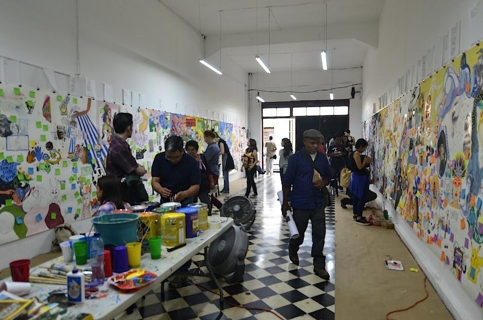 Los espacios invitan a todos a disfrutar el ambiente. (Foto: Selene Mejía/Soy502)