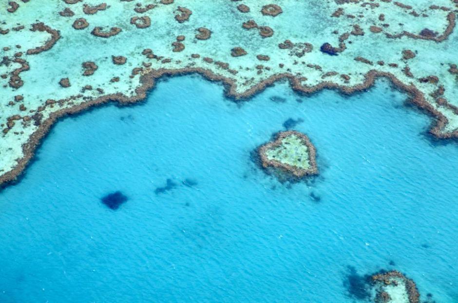 Los tres mil kilómetors de la Gran Barrera de coral en Australia roban el aliento, por ello tienen el segundo lugar. (Foto: El País)