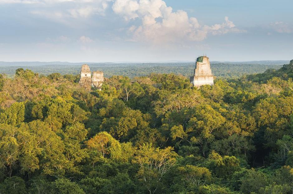 El número 14 del conteo de un diario español, es para la majestuosa selva petenera: Tikal. (Foto: El País)