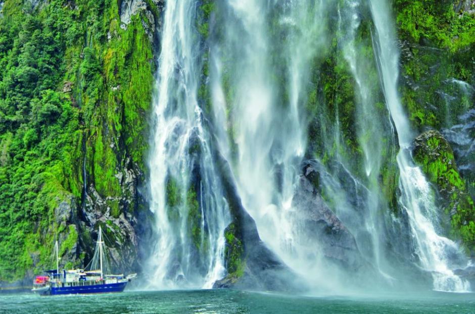 El Parque nacional de Fiordland en Nueva Zelanda es una verdadera hermosura de cuento de hadas. (Foto: El País)