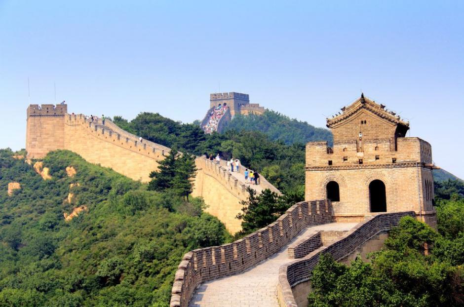 La Gran Muralla China, la mayor construcción hecha por el hombre no falta en este conteo. (Foto: El País)