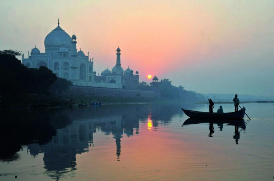 El Taj Mahal en India, el mausoleo blanco dedicado al amor es amado por todos. (Foto: el País)